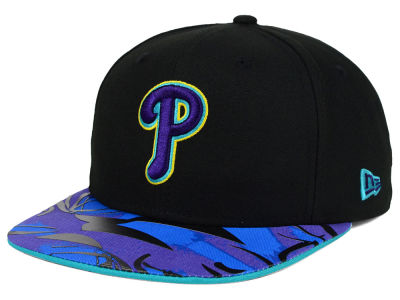 Philadelphia Phillies New Era MLB Aqua Hook Vize 9FIFTY Snapback Cap