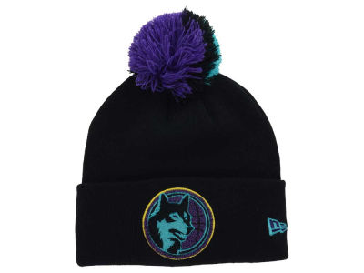 Minnesota Timberwolves New Era NBA HWC Aqua Hook Knit