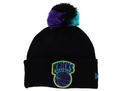 New York Knicks New Era NBA HWC Aqua Hook Knit
