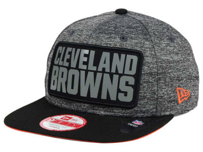 Cleveland Browns New Era NFL Gridiron 9FIFTY Snapback Cap
