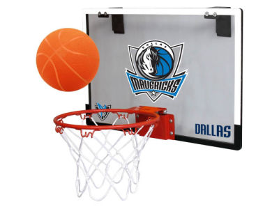 Dallas Mavericks Game On Polycarb Hoop Set