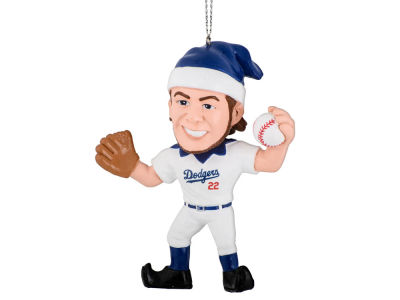 Los Angeles Dodgers Clayton Kershaw Player Elf Ornament