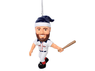 Boston Red Sox Dustin Pedroia Player Elf Ornament