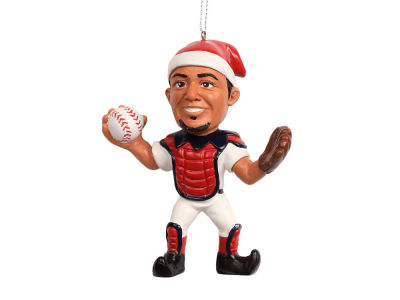 St. Louis Cardinals Yadier Molina Player Elf Ornament