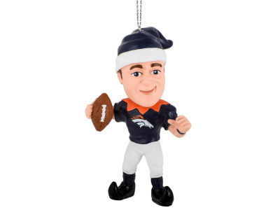 Denver Broncos Peyton Manning Player Elf Ornament