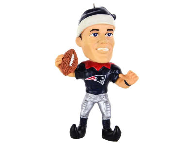New England Patriots Tom Brady Player Elf Ornament