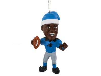 Carolina Panthers Cam Newton Player Elf Ornament