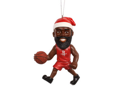 Houston Rockets James Harden Player Elf Ornament