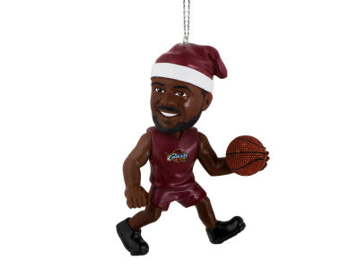Cleveland Cavaliers LeBron James Player Elf Ornament