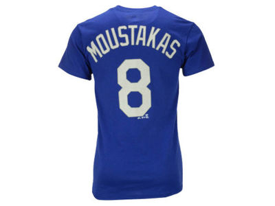 Kansas City Royals Mike Moustakas Majestic MLB Youth Official Player T-Shirt