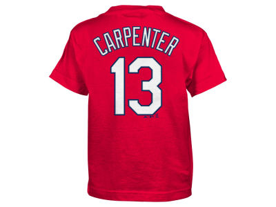 St. Louis Cardinals Matt Carpenter Majestic MLB Kids Official Player T-Shirt