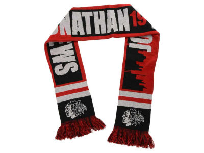 Chicago Blackhawks Jonathan Toews Acrylic Knit Scarf Skyline