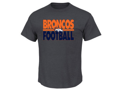 Denver Broncos NFL Men's Cover 2 Triple Peak T-Shirt