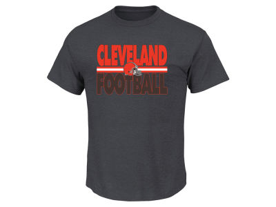 Cleveland Browns NFL Men's Cover 2 Triple Peak T-Shirt
