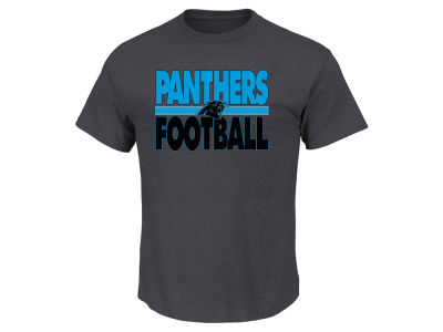 Carolina Panthers NFL Men's Cover 2 Triple Peak T-Shirt