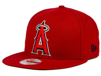 Los Angeles Angels New Era MLB The Letter Man 9FIFTY Snapback Cap