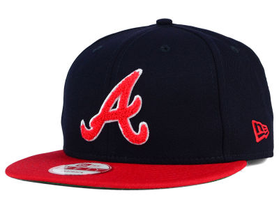 Atlanta Braves New Era MLB The Letter Man 9FIFTY Snapback Cap