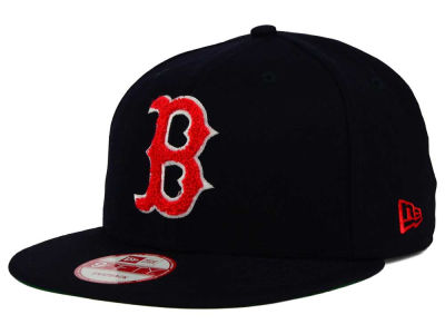 Boston Red Sox New Era MLB The Letter Man 9FIFTY Snapback Cap