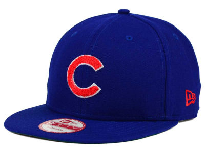 Chicago Cubs New Era MLB The Letter Man 9FIFTY Snapback Cap