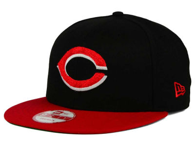 Cincinnati Reds New Era MLB The Letter Man 9FIFTY Snapback Cap