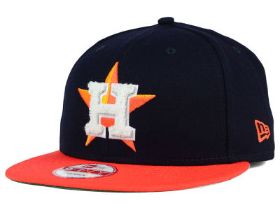 Houston Astros New Era MLB The Letter Man 9FIFTY Snapback Cap