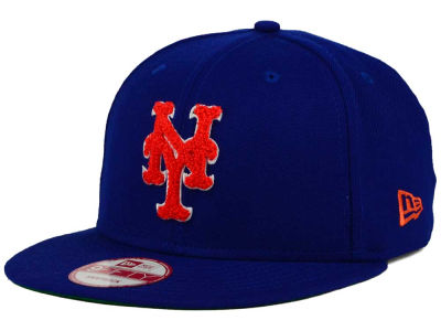 New York Mets New Era MLB The Letter Man 9FIFTY Snapback Cap