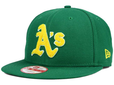 Oakland Athletics New Era MLB The Letter Man 9FIFTY Snapback Cap
