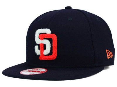 San Diego Padres New Era MLB The Letter Man 9FIFTY Snapback Cap