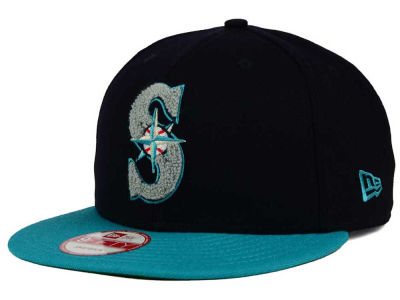 Seattle Mariners New Era MLB The Letter Man 9FIFTY Snapback Cap