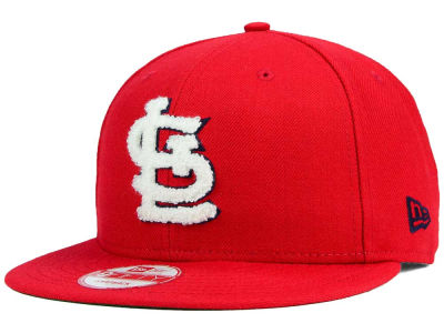 St. Louis Cardinals New Era MLB The Letter Man 9FIFTY Snapback Cap