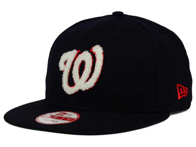 Washington Nationals New Era MLB The Letter Man 9FIFTY Snapback Cap