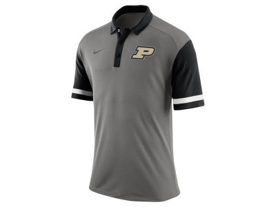 Purdue Boilermakers Nike NCAA Men's Stadium Team First Stripe Polo Shirt