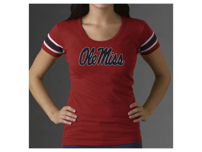 Ole Miss Rebels NCAA Women's Campus Scoop T-Shirt