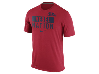 Ole Miss Rebels Nike NCAA Men's Legend Local Verbiage Crew T-Shirt
