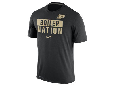 Purdue Boilermakers Nike NCAA Men's Legend Local Verbiage Crew T-Shirt