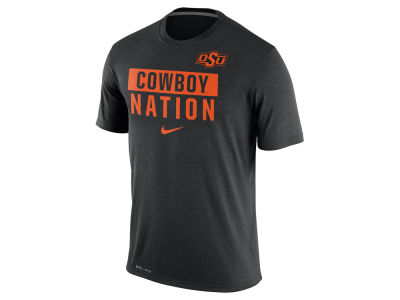 Oklahoma State Cowboys Nike NCAA Men's Legend Local Verbiage Crew T-Shirt