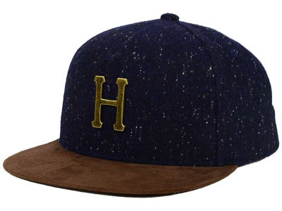 Huf Metal H Tweed Strapback Hat