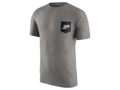 Purdue Boilermakers Nike NCAA Men's Tri Resurge Pocket T-Shirt