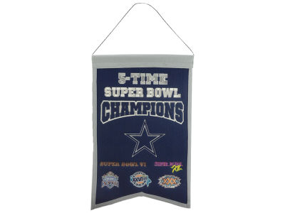 Dallas Cowboys 14x22 Champions Banner