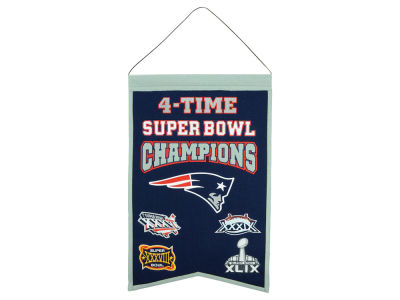 New England Patriots 14x22 Champions Banner