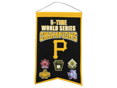 Pittsburgh Pirates Winning Streak 14x22 Champions Banner