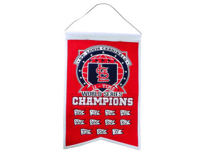St. Louis Cardinals 14x22 Champions Banner
