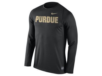 Purdue Boilermakers Nike NCAA Men's Elite Basketball Long Sleeve Shooter T-Shirt