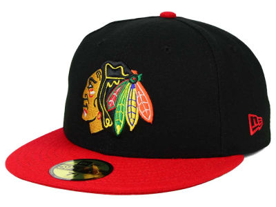 Chicago Blackhawks New Era NHL Stanley Cup Champs Patch 59FIFTY Cap