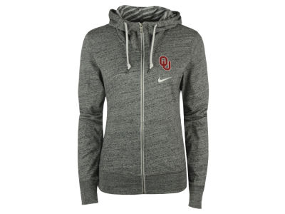 Oklahoma Sooners Nike NCAA Women's Gym Vintage Light Weight Full Zip Hoodie