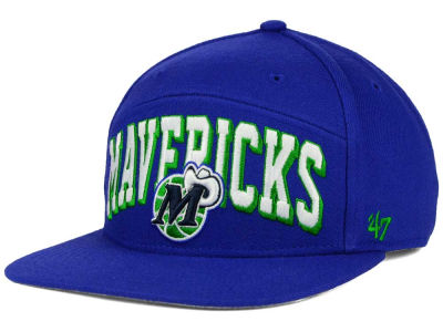 Dallas Mavericks '47 NBA HWC '47 Devoe Snapback Cap