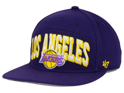 Los Angeles Lakers '47 NBA HWC '47 Devoe Snapback Cap