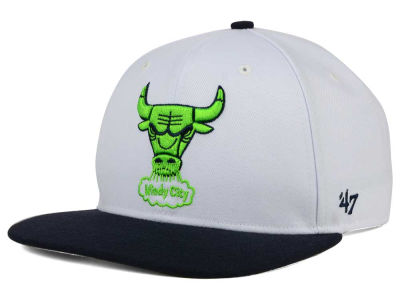 Chicago Bulls '47 NBA HWC Sure Shot 2 Tone '47 Snapback Cap