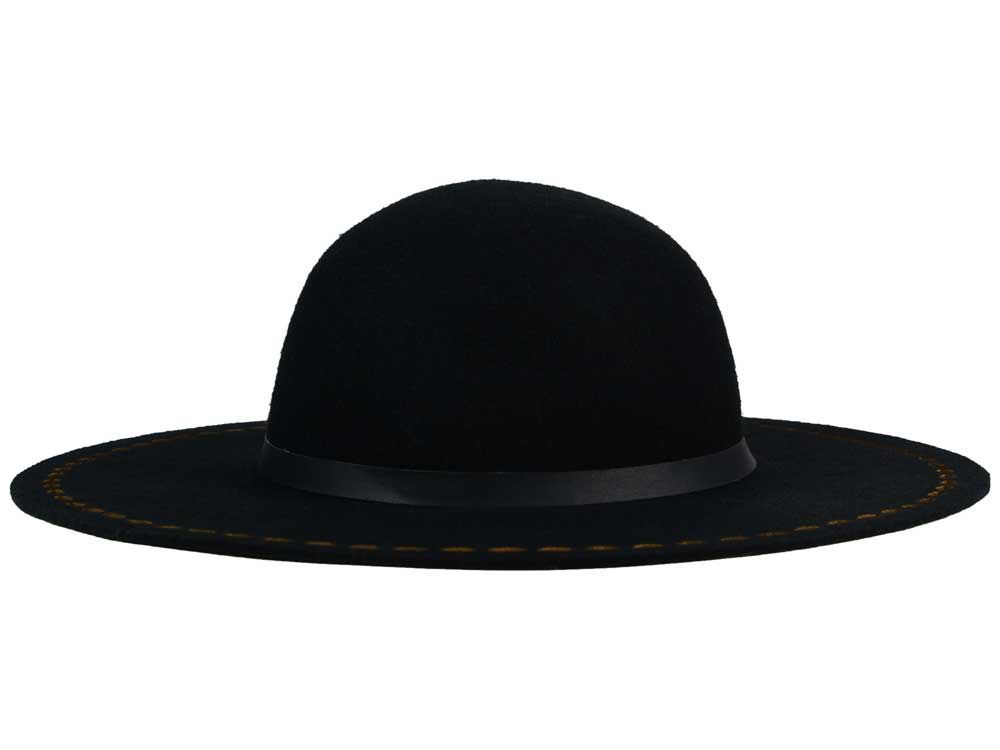 287dc8635 LIDS Private Label PL Laser Cut Edge Wide Brim Fedora Hat