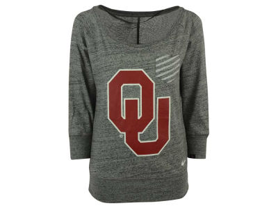 Oklahoma Sooners Nike NCAA Women's Gym Vintage Pocket Crew Fleece